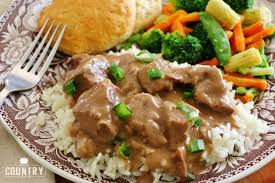 crock pot beef tips and gravy the country cook