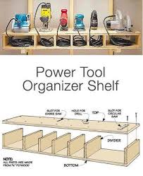 Wood Storage Shelf Designs by Best 25 Power Tool Storage Ideas On Pinterest Garage Tool