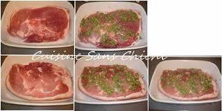 cuisiner rouelle de porc rouelle de porc laquée au miel thym et romarin