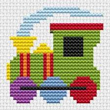 textiles cross stitching kid museum