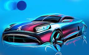 sketching cars by marouane bembli at coroflot com