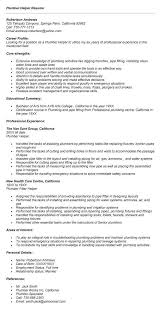 plumber helper resume sample resume resume helper electrician