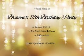 free 18th birthday party invitations cards printable saflly