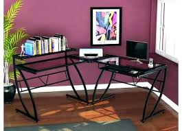 office depot l shaped glass desk l desk glass l desk with storage medium size of office shaped desk