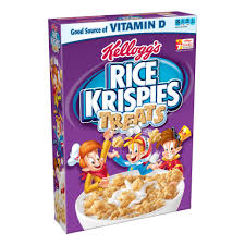 Breakfast Food Cereal Walmart Com by Kellogg U0027s Rice Krispies Toasted Rice Cereal 12 Oz Walmart Com