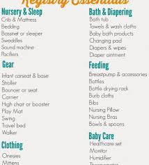 wedding registry uk ideas stirring baby shower gift list printable online uk