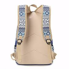 canvas floral backpacks printing culture tribal native