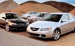 subaru 2004 custom 2004 acura tsx vs audi a4 vs subaru legacy vs volvo s40