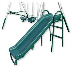 Double Swing Outdoor Children U0027s Double Swing And Slide Set Playground See Saw