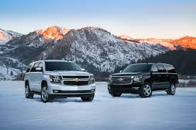 chevy suburban all new 2015 chevy tahoe and suburban are more capable