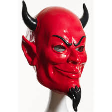 deluxe halloween masks scream queens deluxe devil latex mask 362447 trendyhalloween com