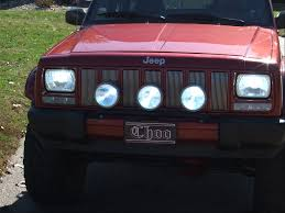 jeep kc lights 3 kc long range lights hid with light bar jeep cherokee forum