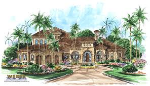 mediterranean waterfront home plans home plans