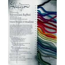 Rug Wool Yarn Wool Yarn Color Cards The Woolery