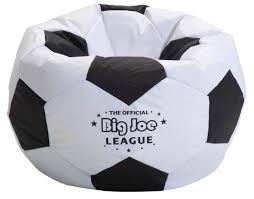 Big Joe Beans Big Joe Soccer Bean Bag With Smart Max Fabric Tough Stain