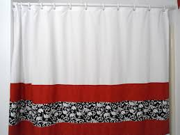 Red White And Blue Bathroom Curtains Red And White Curtains Finest Red And White Striped