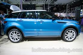 land rover chinese china made range rover evoque side at 2014 guangzhou auto show