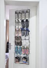 22 Closet Door 22 Pockets Clear Door Hanging Bag Shoe Rack Hanger Storage