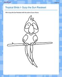 parakeet coloring pages episode the early birder gets the bird u