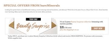 ls plus open box coupon code bare minerals mystery box review july 2015 my subscription addiction