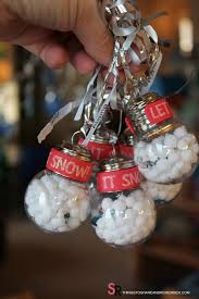 it snow ornaments
