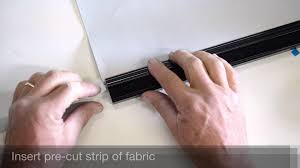 how to assemble an elite bottom rail for roller shades by arabel