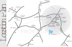 srs green valley in nizampet hyderabad price location map