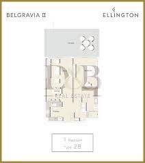ellington floor plan belgravia ellington dubai d u0026b properties