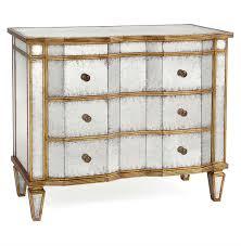 gold dresser aubrey hollywood regency silver leaf mirror chest dresser gold
