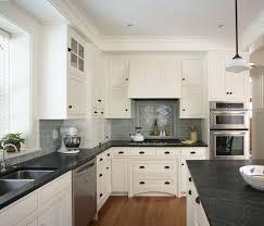 Best  Dark Countertops Ideas On Pinterest Beautiful Kitchen - Gray subway tile backsplash