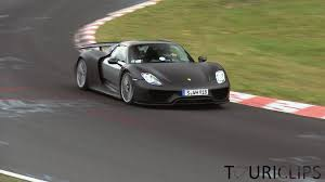 porsche 918 spyder ing the nà rburgring youtube