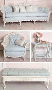 french provincial shabby chic chaise lounger brand new sofa couch