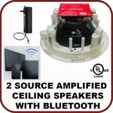 Wireless Speakers In Ceiling by Amplified Ceiling Bluetooth Speakers Home
