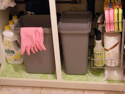 organizing under the kitchen sink nyc home cleaning service