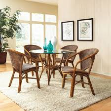 interesting wicker dining room chairs indoor pics design