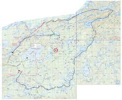 Boundary Waters Map Bwca May 2012