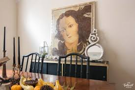 dining room sideboard decorating ideas halloween dining room a study of the curious and curiouser the