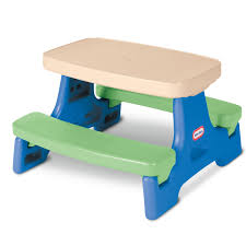 Furniture Sliders Walmart Easy Store Jr Play Table With Umbrella Blue Green