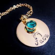 mothers necklaces with names and birthstones shop s necklace with kids birthstones on wanelo
