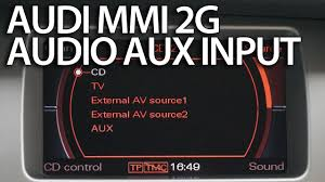 audi multi media interface mmi 2g tutorials mr fix info