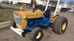 1972 ford 2000 lcg tractor for sale online auction youtube