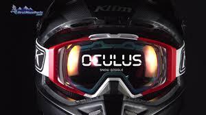 prescription motocross goggles klim oculus snowmobile goggle youtube
