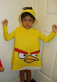 Angry Birds Halloween Costume Nwt Rovio Toddler Boys Girls Angry Birds Yellow Bird Halloween