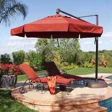 elegant patio furniture umbrella backyard design inspiration how