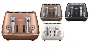 Delonghi Icona 4 Slice Toaster Black Delonghi Distinta 4 Slice Toaster Toasters Small Kitchen
