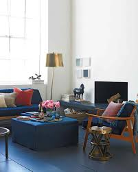 Living Room Paint Ideas With Blue Furniture Decorating With Dark Colors Martha Stewart
