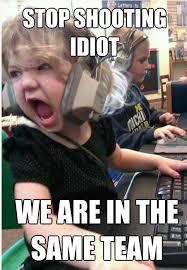 Idiot Meme - we are in the same team funny idiot meme