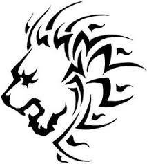 tribal leo logo leo tattoos and