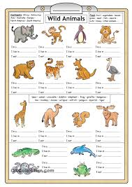 Free Printable Worksheets For Preschool Teachers Learning About Animals For Kids Worksheets Google Search