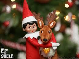 on shelf reindeer on the shelf ideas hug it out the on the shelf